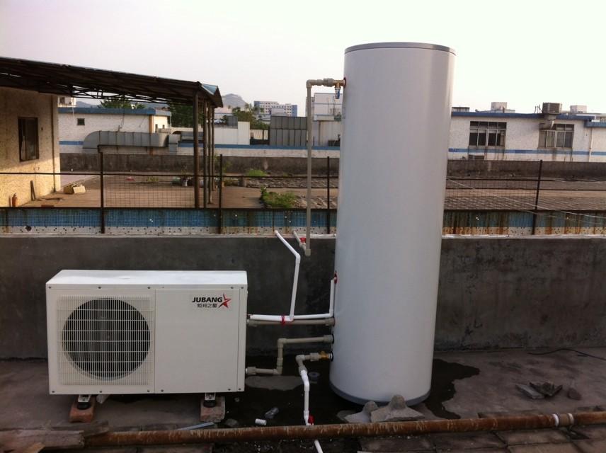 深圳松岗工厂空气能热水工程安装使用