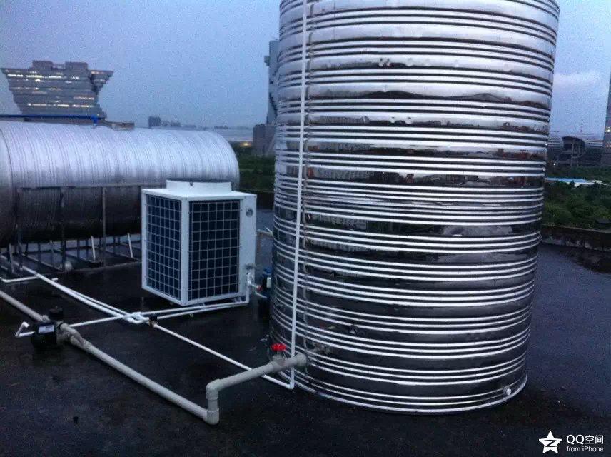广州海珠区华立学校热泵工程投入使用
