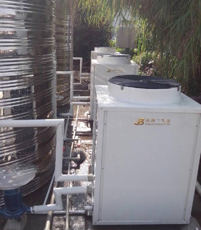 镀锌板空气能热水器价格差别大?炬邦热能用质量说话!