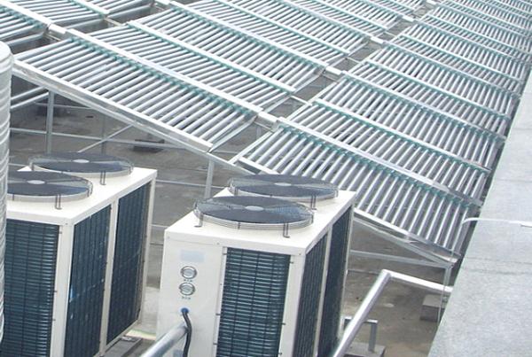 游泳池太阳能热水器工程