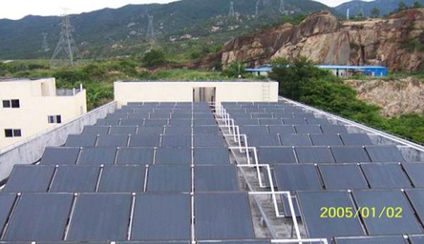 部队太阳能热水器工程
