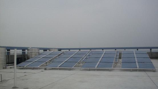 沐足热水工程—太阳能热水器