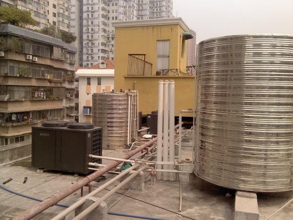 广州市集体宿舍空气能热泵热水工程案例