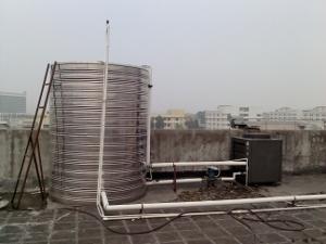 振中五金厂空气能热水工程