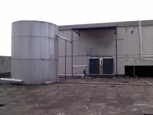 安特丽皮具厂空气能热水工程案例
