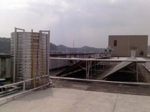 酒店太阳能热水器工程